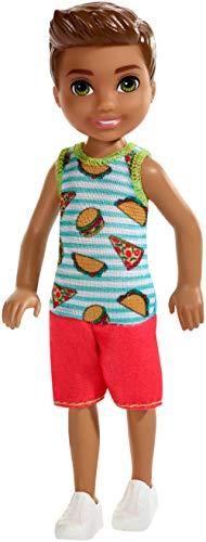 Barbie FXG78 - Chelseas Freund Puppe (brünett), Puppen Spielzeug ab 3 Jahren