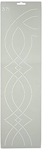 Quilting Creations Corner/Border Quilt Stencil by Quilting Creations