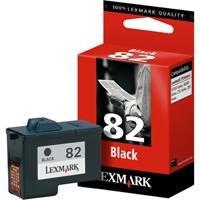 Lexmark Schwarze Patrone Nr.82 Tinte schwarz 600S Z55 / Z65, X5150 / X5190pro / X6150 / X6170 / X6190pro / X5130 Lexmark Tintenpatronen X6170