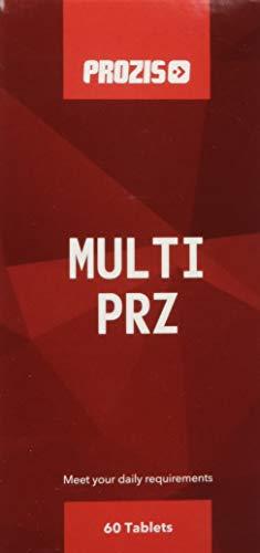 Prozis Multi PRZ 60 tabs - kombiniert 22 Vitamine und Mineralien zur Unterstützung der allgemeinen geistigen und körperlichen Gesundheit - 60 Tabletten