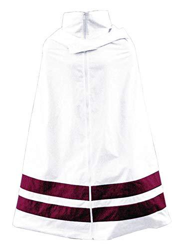 Chong Seng CHIUS Cosplay Costume White Cloak for Hidden Leaf Male Ninja Shinobi Hooded V1