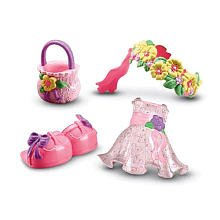 Snap 'n Style Flower Girl Fashion Outfit by Snap 'N Style