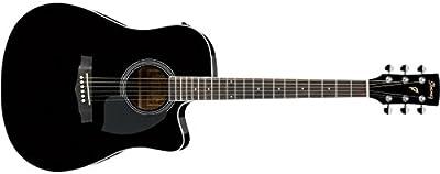 Ibanez PF15ECE-BK · Guitarra acústica