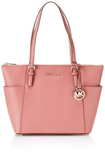 Michael Kors Damen Jet Set Item Ew Tz Tote Pink (Rose), 11,4x25,4x38,1 cm - Handtaschen Kors Tote-michael