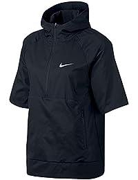 new arrivals 3d5aa 8bc3a Nike W FLX JKT HD SS SSNL Veste de Running Femme, Noir, FR (