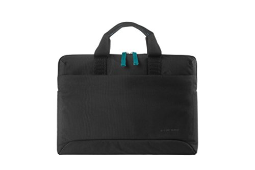 Tucano bsm15bk smilza elegante custodia per portatile in nylon, 39,64cm (15,6pollici) nero