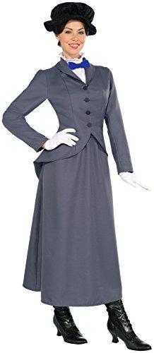 English Nanny Costume Adult Women X-Large