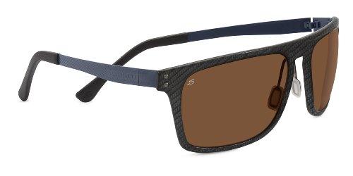 Serengeti Eyewear Sonnenbrille Ferrara, Shiny Carbon Fiber, M/L, 7897