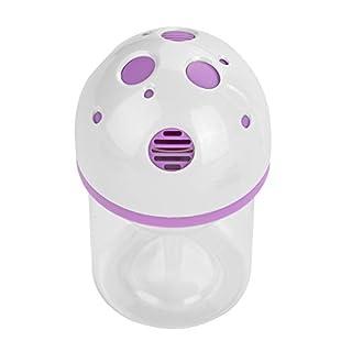 Eboxer Pilzförmiger USB-Luftreiniger-Formaldehyd/PM2.5 entfernen 50cbm/Tag Luftverdrängungs-Auto-Reinigungsapparat für Wohnung,Auto,Büro usw.(Lila)