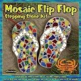 Midwest Products Mosaik-Flip-Flop-Stein-Set -