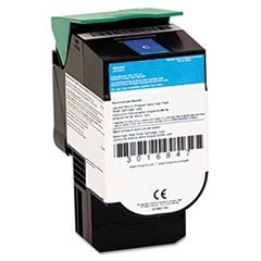 - 39V2431 Extra High-Yield Toner, 4,000 Page-Yield, Cyan - by 6COU