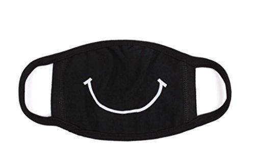 üße Mundschutz Maske Emojimaske Kälteschutz Gesichtsmaske (Shut up) (Smile) (Süße Masken Für Halloween)