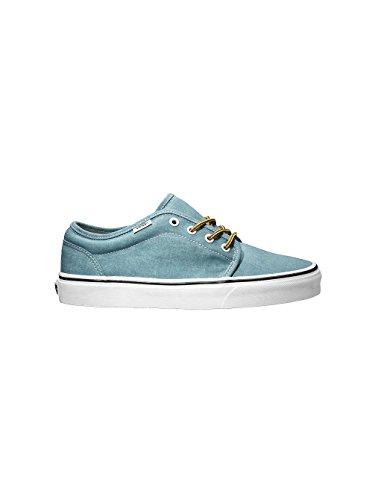 Vans Unisex-Erwachsene 0 Niedrige Sneaker Blu  (Blue)