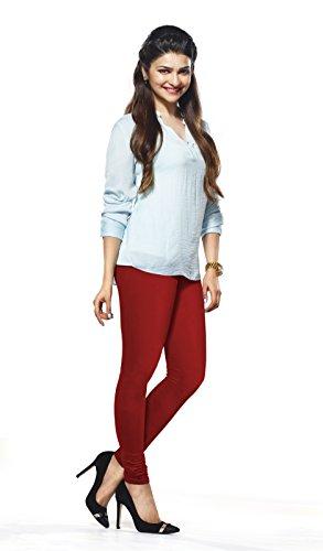 Lux Lyra Women\'s Parry Red Churidar Leggings