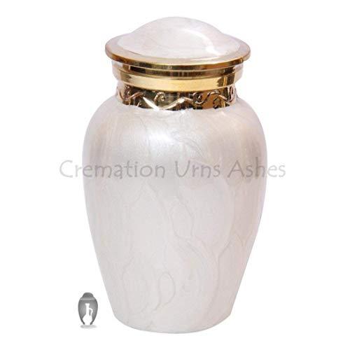 Bendición Pearl Memorial recuerdo urna para cenizas humanas, hermoso cremación Urns UK, Funeral Urns, pequeño recuerdo Urnas