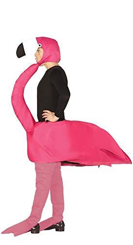 shoperama Unisex Kostüm Flamingo Erwachsene Zoo Tier Vogel Jungegesellenabschied Unisex Kostüm Flamingo Erwachsene Straßenkarneval Jungegesellenabschied JGA Damen - Zoo Tier Kostüm Für Erwachsene