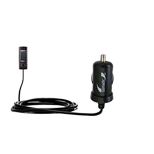 10W Mini-Autoladegerät kompatibel mit Samsung SGH-F200 mit Energiespartechnologie und TipExchange