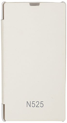 iCandy Flip Cover for Nokia Lumia 525 - White  available at amazon for Rs.109