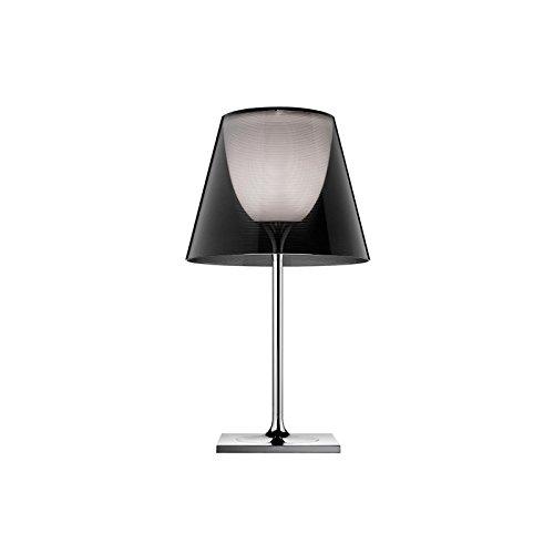 Flos Ktribe T1 Lámpara de mesa de luz difusa, regulable por Philippe Starck – Fumé
