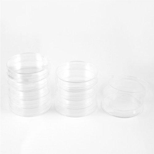 Sourcingmap® Labor Ersatzteil, 70 mm Durchmesser, Kunststoff-Zelle Kultur, 10 Stück de