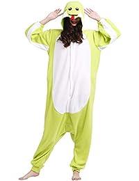 Unisex Animal Pijama Ropa de Dormir Cosplay Kigurumi Onesie Serpiente Disfraz para Adulto Entre 1,