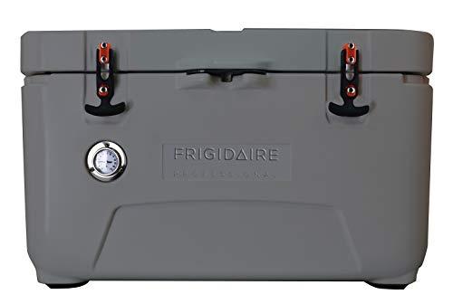 Frigidaire Freidaire FXHC7001-Graphite Professional 70-Qt. Roto-Molded Hardkühler mit integriertem Thermometer, Graphit, Quart