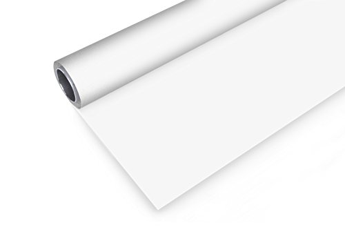 Bresser Vinyl Hintergrundrolle, 1,45 x 4 m weiß