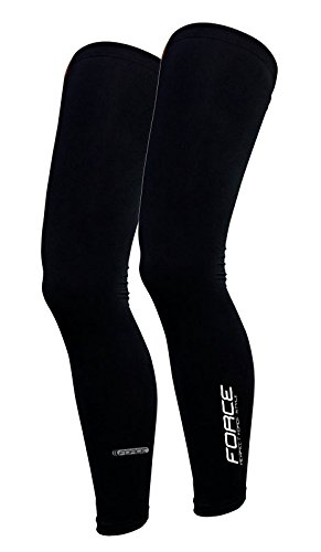 Force Beinlinge Leg Warmers, schwarz (L)