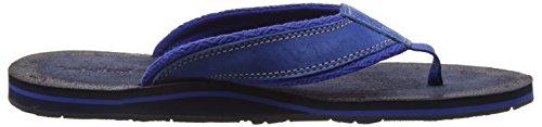 Timberland Sea Haven_sea Haven Flip Flop F/L, Tongs homme Bleu - Blau (Nautical Blue Nubuck w/Diamond Print Textile)