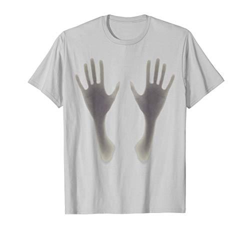Halloween Schatten übergibt Boob Grabbing Shadow T - Der Shadow Mann Kostüm