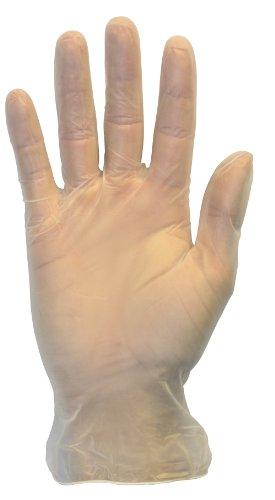 Einweg Vinyl Exam Handschuhe, transparent, Medical Grade, puderfrei, latexfrei, lab, Kunststoff, Nahrungsmittel, Reinigung, Großhandel ()