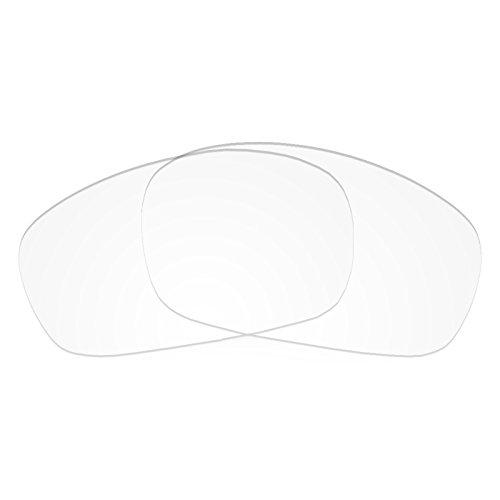Preisvergleich Produktbild Revant Ersatzlinsen für Oakley Racing Jacket Kristallklar Asian Fit