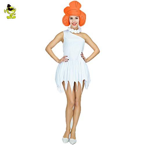 Kostüm Vampire Hunter - GAOGUAIG AA Sexy Wilma Feuerstein Kostüme Steinzeit Savage Cosplay Halloween Karneval Feuerstein Africanl Hunter Indian Clothing SD (Color : Onecolor, Size : Onesize)