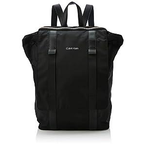 31ApbGV2rkL. SS300  - Calvin Klein - Braced F Backpack, Mochilas Hombre, Negro (Black), 18x29x45 cm (B x H T)