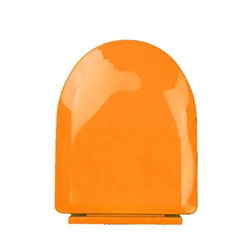 DNSJB WC-Sitz Langsamer Soft-Close-antibakterieller Kinder-WC-Sitz - Für Alle U-Form-Toiletten (Color : Orange) - Wc-sitz-kommode