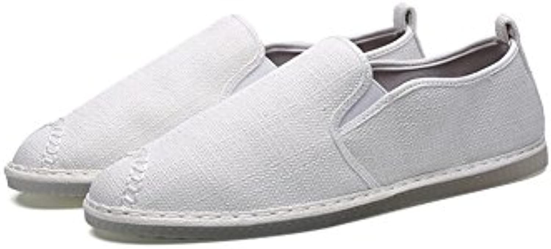 XUEQIN Urban Mens Schuhe  Herren Casual Sail Schuhe  Mens Slip auf Leinwand Sommer Schuhe (Farbe : 2  größe :