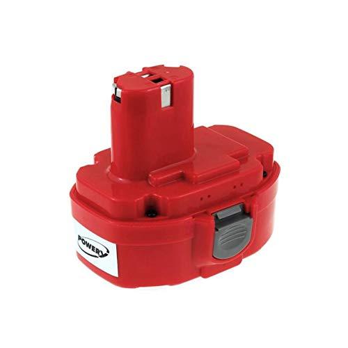 Powery Batería para Makita Caladora pendular electrónica 4334DWDE 3000mAh