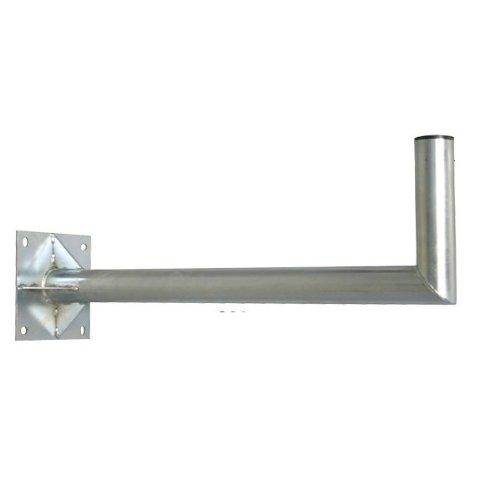 PremiumX Wandhalter 80 cm Ø 60mm aus Stahl Sat Wand Halter für Schüssel Spiegel Wandabstand 80cm Durchmesser 60mm NEU
