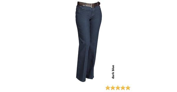 26ff0e9cca9530 AJC Arizona Damenjeans Damen Jeans Kurzgrößen Dunkelblau Gr. 24: Amazon.de:  Bekleidung