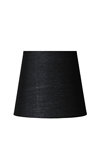 Lucide SHADE - Abat Jour Lampe - Ø 13 cm - Noir