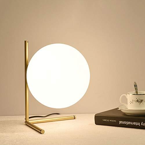 Verstellbarer Runder Café Tisch (Kreative Glas Eisen Tischlampen, Runde Schreibtischleuchten Ringschutz Augen Verstellbarer Knopfschalter Kreative Displaybeleuchtung Mit Stecker In Leseleuchten Kindertischlampe ( Color : Gold ))