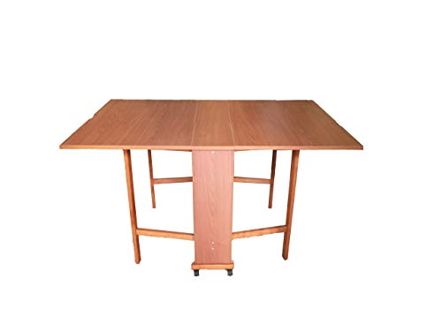 Liberoshopping Giorgia Table avec Console rétractable 78 x 90 x 140 cm avec Roues PIROTTANTI