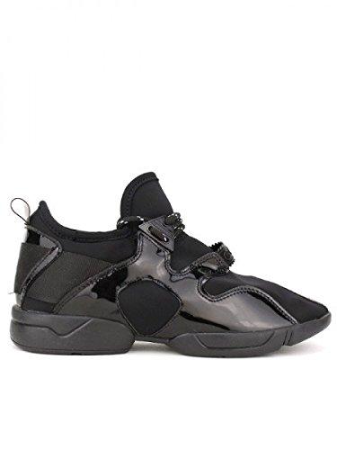 Cendriyon, Basket Top Confort RUN IT'S Chaussures Femme Noir