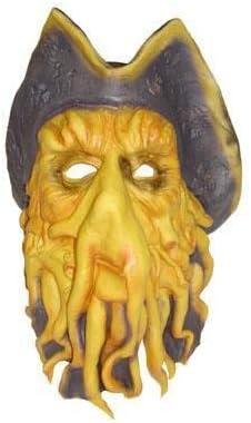 COOLMP Lot de Pieuvre 3 - Masque Latex Pieuvre de des caraïbes da2590