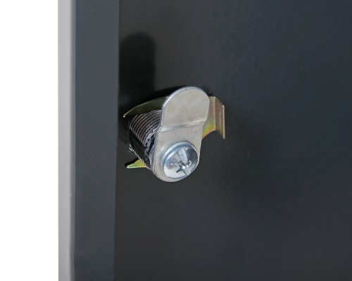 Ondis24 Montagewerkbank Werkstatteinrichtung Werkstatt Werkbank Werktisch mit 2 Schubläden kugelgelagerte Rollenführung mit 2 abschließbaren Türen - 5