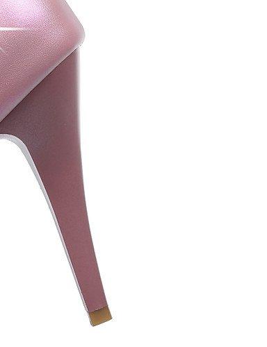 WSS 2016 Chaussures Femme-Bureau & Travail / Décontracté-Rose / Rouge / Blanc-Talon Aiguille-Talons / Bout Arrondi-Talons-Polyuréthane white-us10.5 / eu42 / uk8.5 / cn43