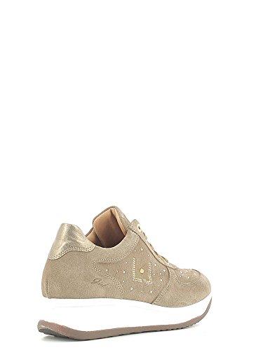 Liu Jo Girl B22586 Talpa Sneakers Scarpe Donna Calzature Comode Woman Shoes Tortora