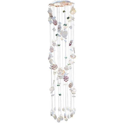 Kreative Shell Windspiele Anhänger Kleine Frische Glocke Mädchen Zimmer Schlafzimmer Geburtstag Tür Fenster Windspiel Ornamente (Größe : 90cm)