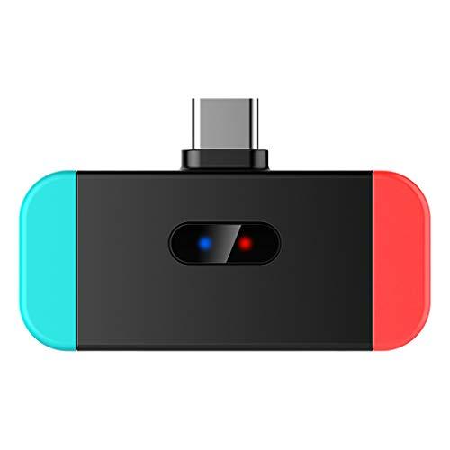 Yue668 Portable 32Mah USB C zu Bluetooth Audio Adapter Kabellos Sender Konverter für N-Switch PS4