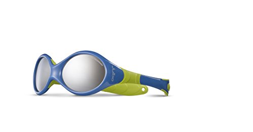 Julbo Looping 2 Sp4 Sunglasses Multi-Coloured Bleu/Anis Size:Taille S